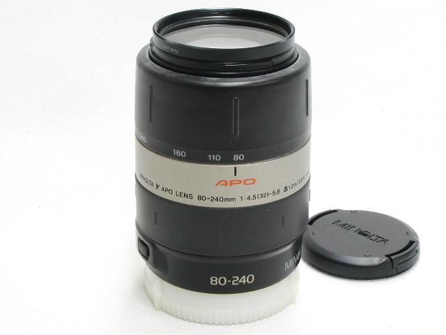 【難あり】 V APO LENS 80-240mm 1: 4.5-5.6  w/ Protector