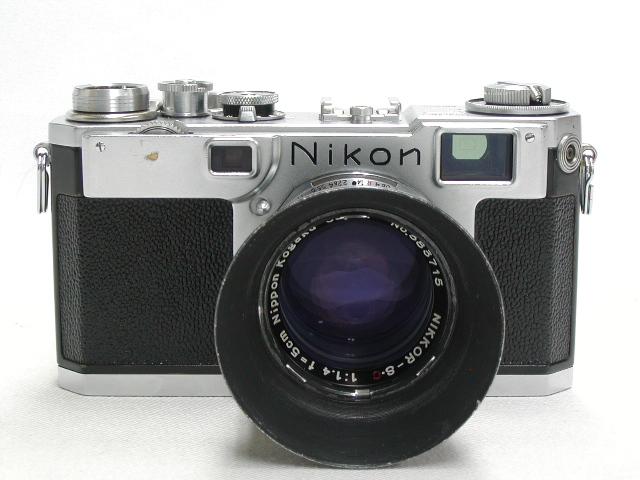 S2 ( 後期 )  NIKKOR-S・C  1:1,4  f=5cm