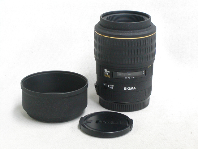 【ジャンク】 EX 105mm 1:2.8 MACRO (for Canon)