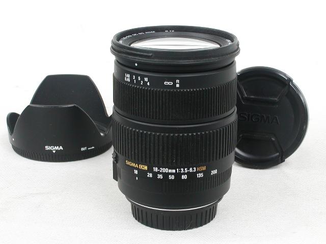 AF 18-200/3.5-6.3DC OS HSM  For Canon
