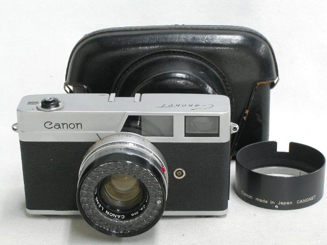 【ジャンク】 Canonet (45/1.9)