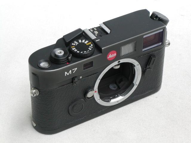 LEICA M7(0.85) Black Chome Body