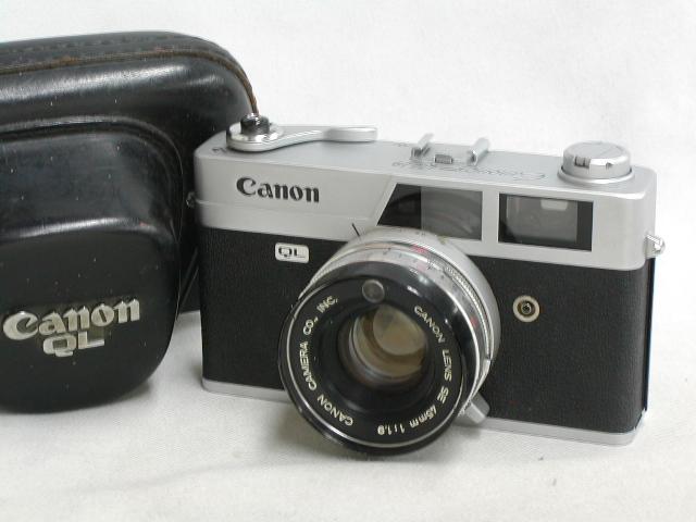 Canonet QL19 (45/1.9)