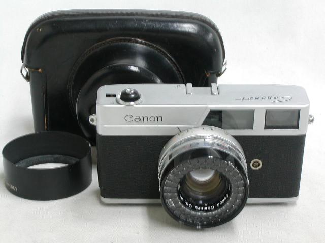 【ジャンク】 Canonet   (SE 45/1.9)