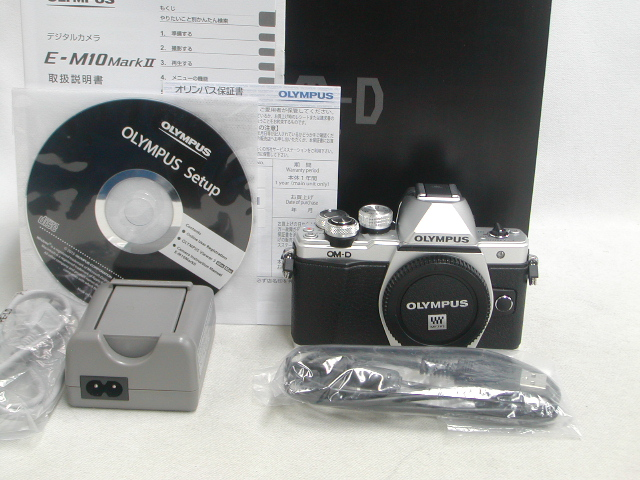 【極上】 E-M10 Mark II (Silver) Body