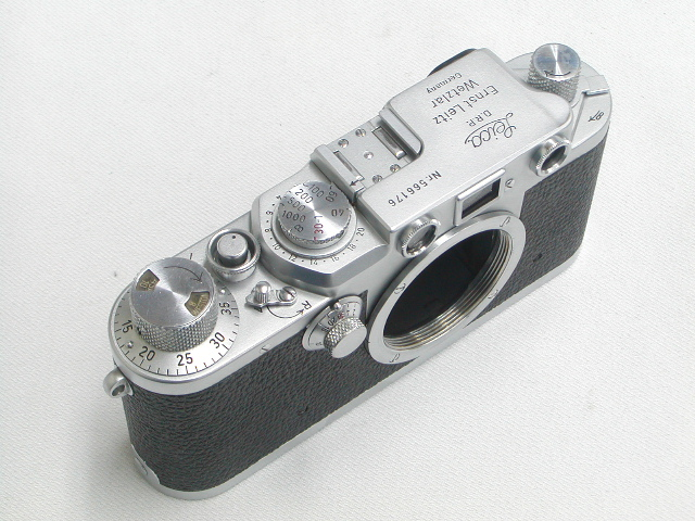 Leica IIIf (前期)  Body