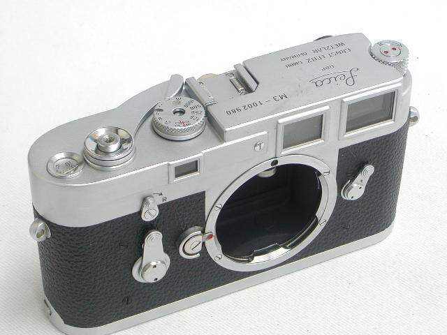 Leica M3  BODY (#1002***) OH済み