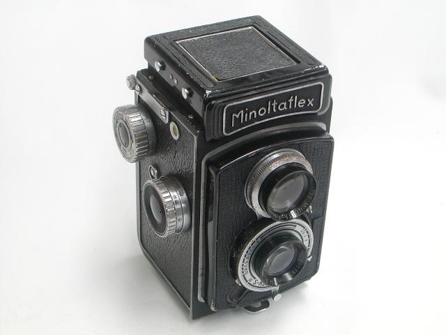 【難あり】 Minoltaflex  ROKKOR 1:3.5 f=75mm