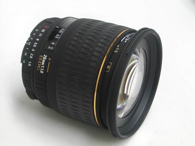 28mm 1:1.8 EX DG (for Nikon)