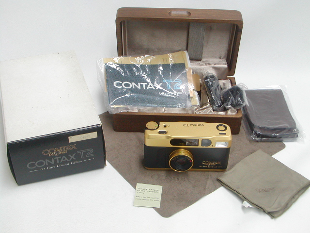 "【極上】 CONTAX T2 ""60 Years Limited Edition"""