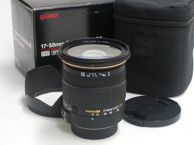 17-50 / 2.8 EX DC OS  (FOR NIKON AF-D)