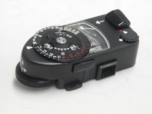【美品】 Leica-METER MR (Black Chome)