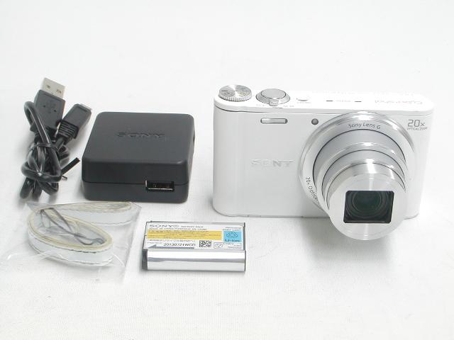 【難あり】 DSC-WX300 (White)