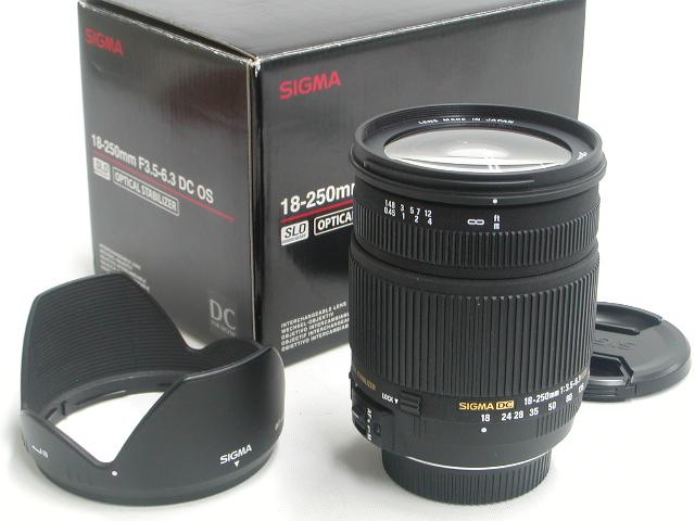 18-250 / 3.5-6.3 DC OS HSM (FOR NIKON AFD)