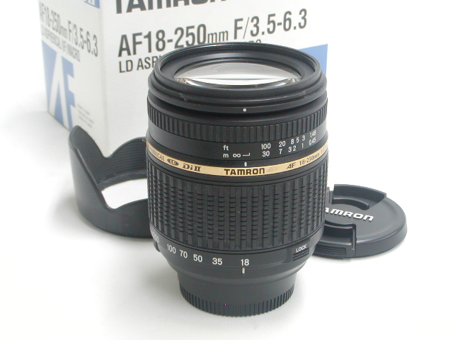 AF DiII 18-250 / 3.5-6.3LD<IF>MACRO【ニコンマウント】A18