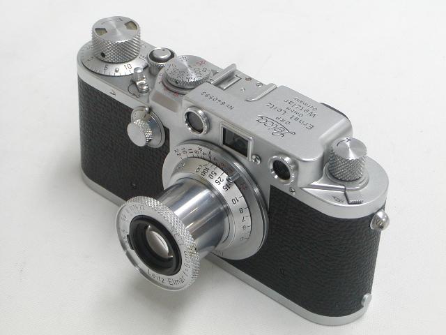 Leica IIIf  Elmar f=5cm 1:3,5