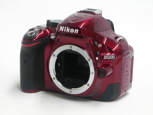 D5200 (Red)  Body