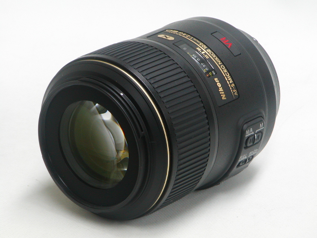 【美品】 AF-S MICRO NIKKOR 105mm 1:2.8 G ED VR 〈N〉