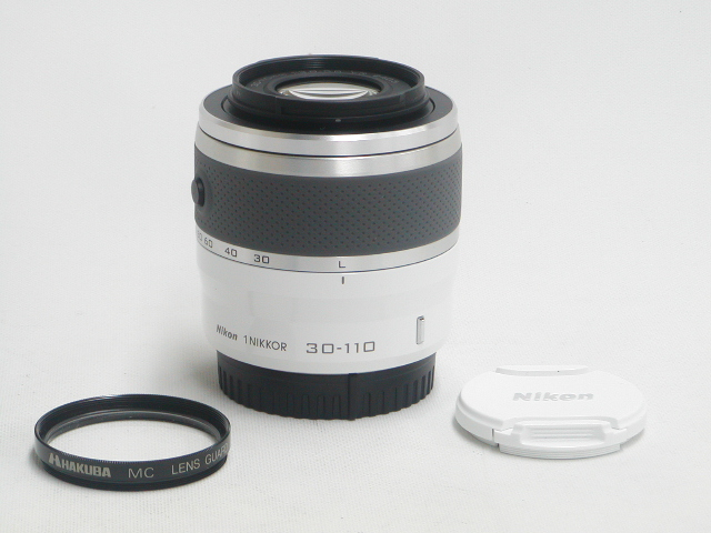 1 NIKKOR  30-110mm 1:3.8-5.6 VR (White) w/ プロテクター