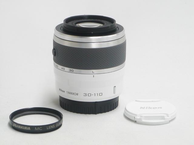 1 NIKKOR  30-110mm 1:3.8-5.6 VR (White) w/ プロテクター