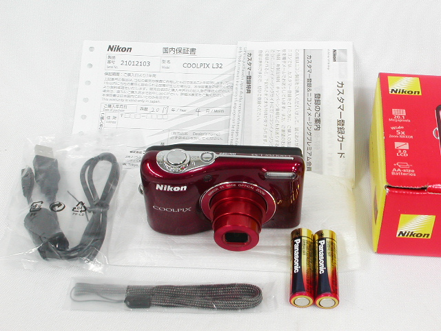 COOLPIX L32 (Red)