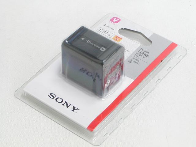 【新品】 リチャージャブルバッテリーパック NP-FV70A