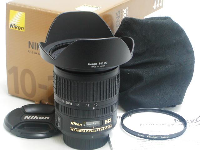 【美品】AF-S DX NIKKOR 10-24mm 1:3.5-4.5G ED w/ プロテクター