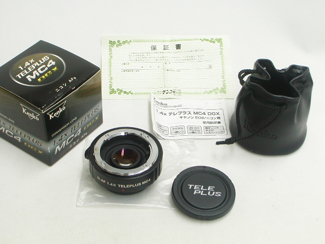 1.4x TELEPLUS MC4 DGX (for Nikon)