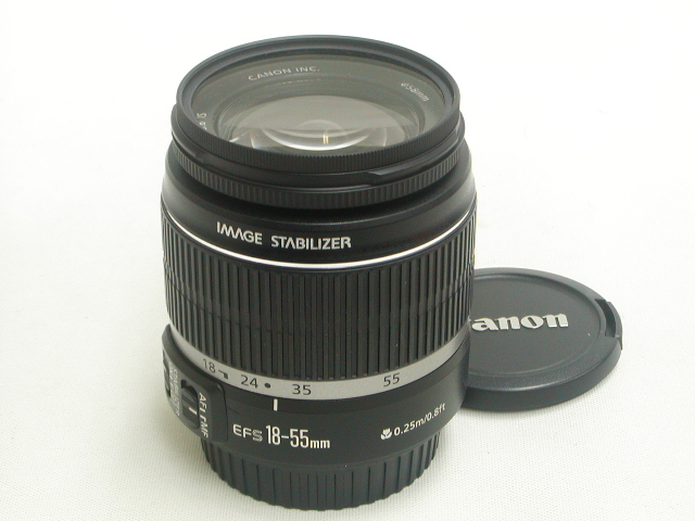 【難あり】 EF-S 18-55mm 1:3.5-5.6 IS /w.Protector