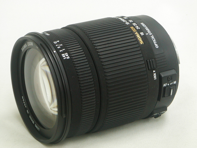 18-250mm 1:3.5-6.3 DC OS HSM (for Canon)