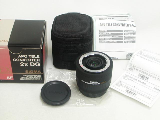 【準新】 EX APO TELE CONVERTER 2x DG (for Nikon)