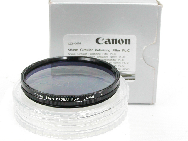 58mm Clrcular Polarilig Filter PL-C