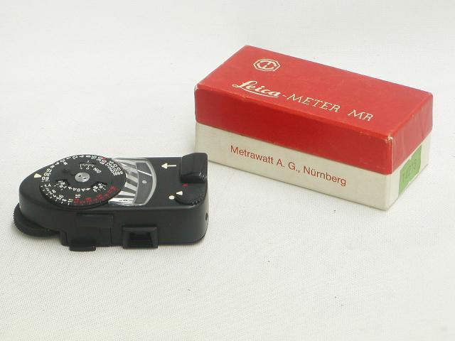 【美品】 Leica-METER MR 後期 (Black Chome)