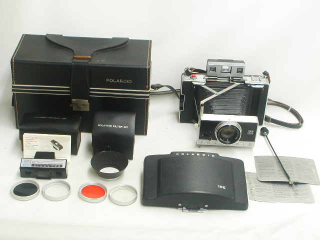 """POLAROID 195 TOMINON 1:3.8 f=114mm """"Out-Fit"""""""