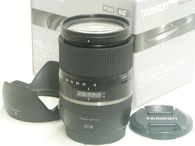 16-300mm/F3.5-6.3 Di II  VC  PZD  MACRO (B016E) for Canon