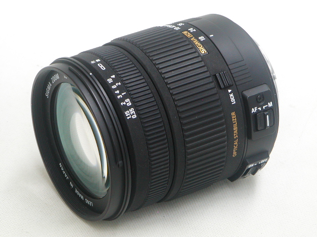 18-125mm 1:3.8-5.6 DC OS HSM (for Canon)