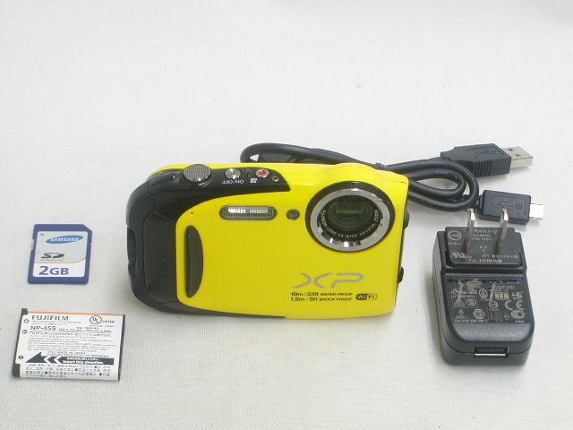 FinePix XP70 (Yellow)
