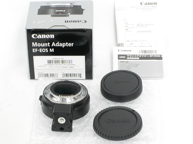 【極上】 Mount Adapter EF-EOS M