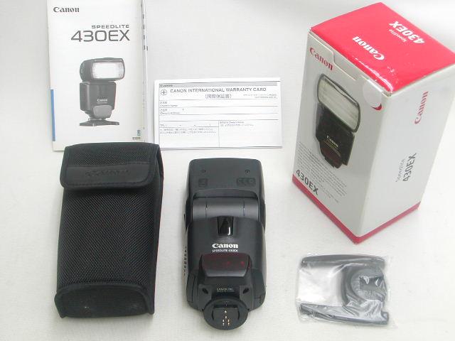 【極上】 Speedlite 430EX