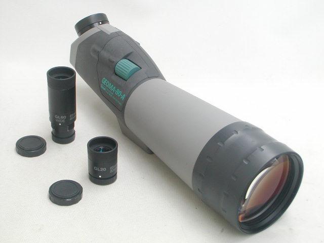 Vixen GEOMA-80-A  w/ GL20(25x) ・GL60WIDE(75x)