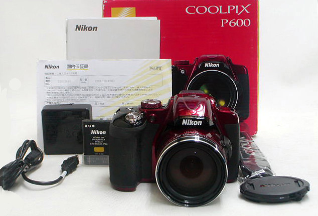 COOLPIX P600 (Red)