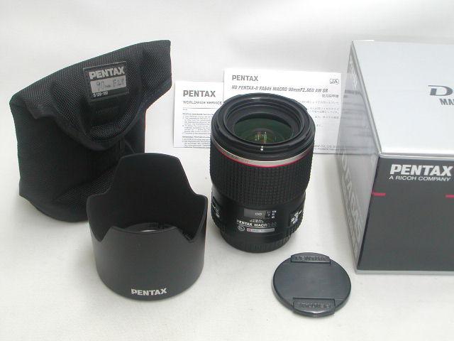 【美品】 HD PENTAX-D FA645 MACRO 90mm F2.8 ED AW SR
