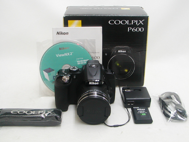 COOLPIX P600 (Black)