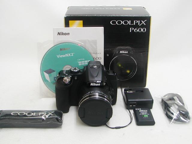 COOLPIX P600 (Black)