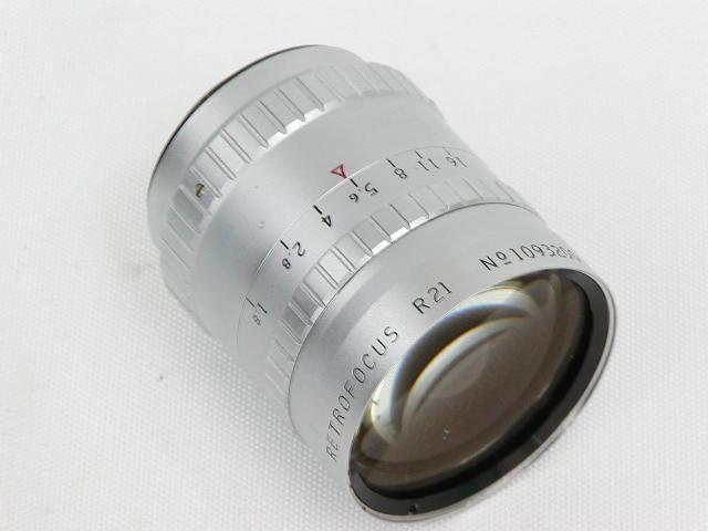 【難あり】 P.ANGENIEUX 10mm 1:1.8 RETROFOCUS