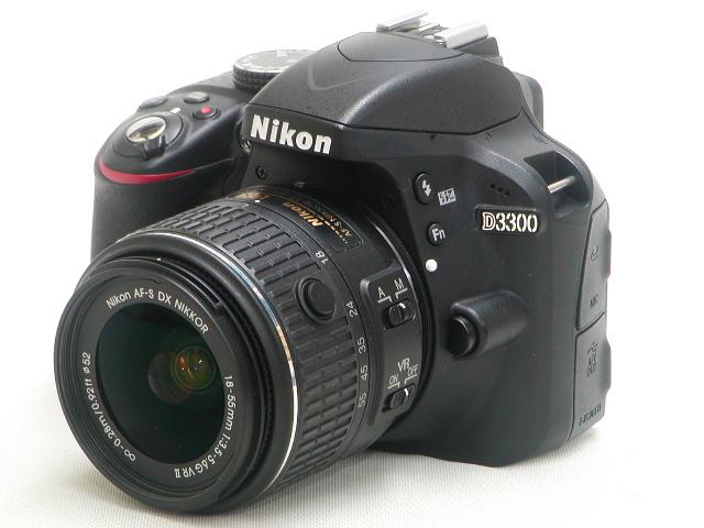 D3300 AF-S18-55mm 1:3.5-5.6GII VR