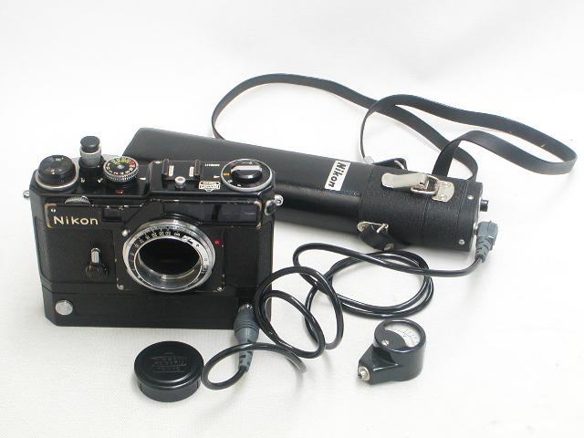 Nikon SP MOTOR (Black Paint)  Body