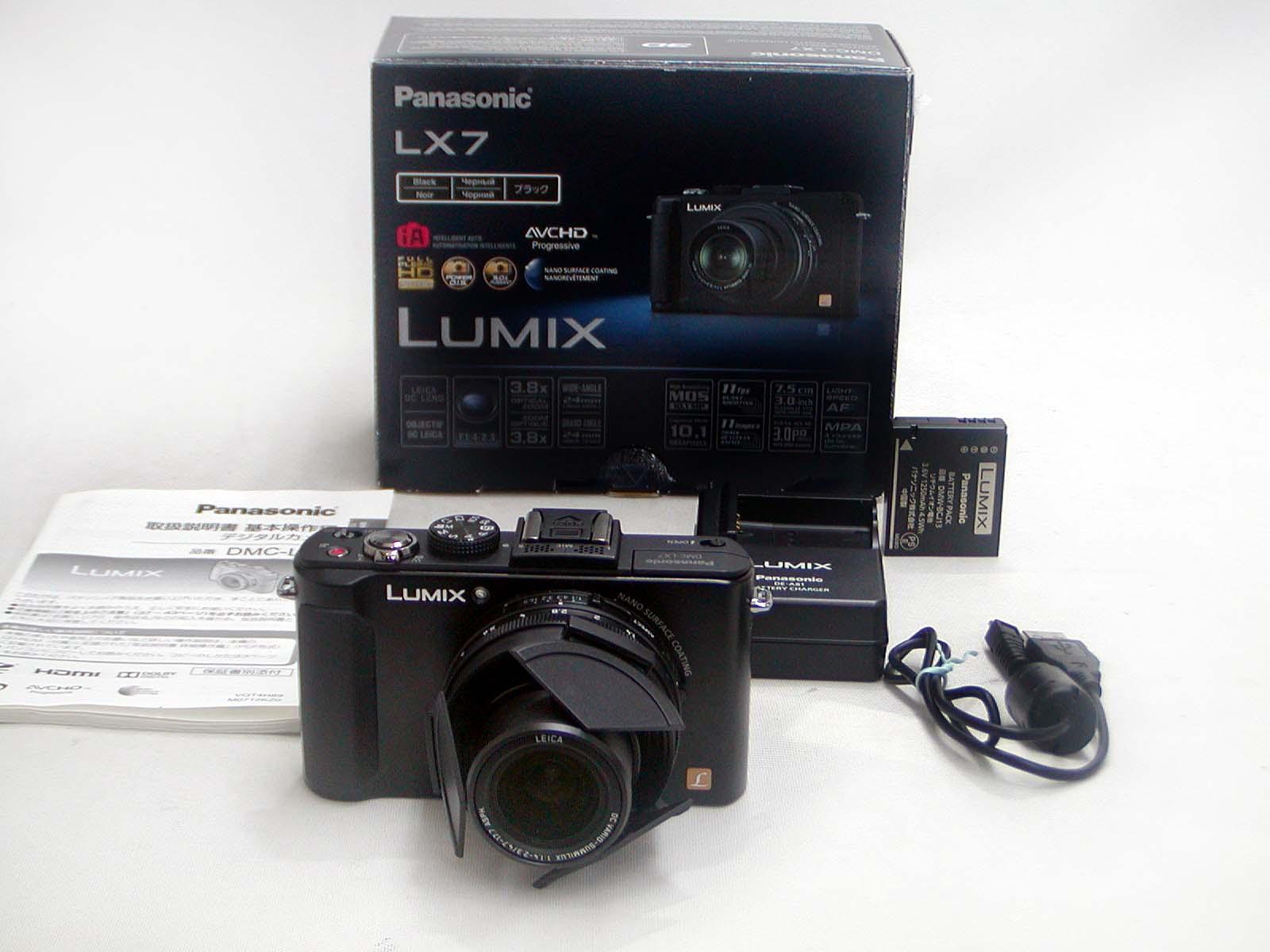 LUMIX DMC-LX7 (Black)
