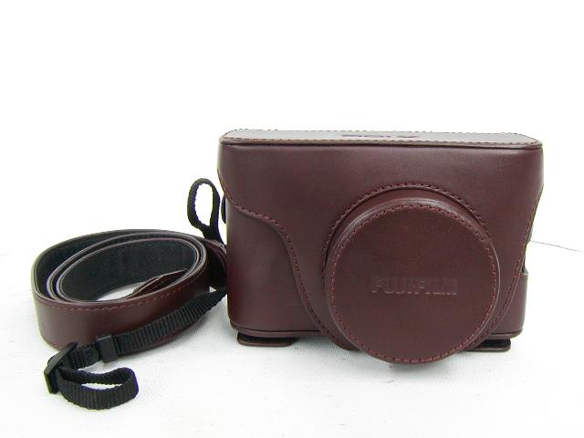富士フイルム FUJIFILM X100 ブラウン カメラケース&ストラップ