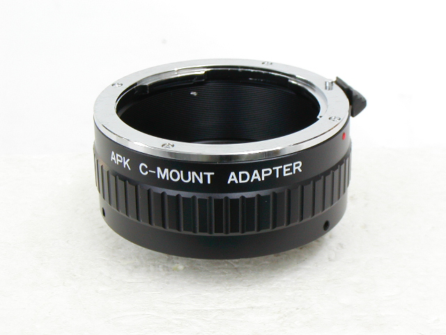 APK C-MOUNT ADAPTER    PENTAX-K